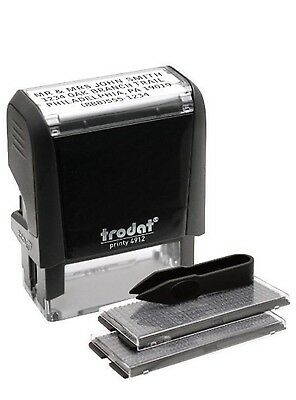 Trodat Economy Self-Inking Do It Yourself Message Stamp