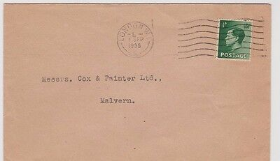 King Edward VIII 1/2 d First Day Cover