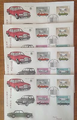 Bundle Of  4 Assorted First Day Covers