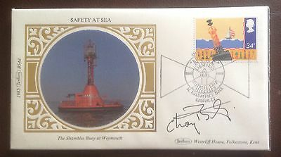 Benham First Day Cover Hand signed by Sir Charles 'Chay' Blyth