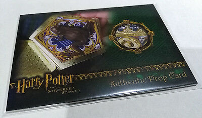 Harry Potter Sorcerer's Stone Authentic Prop Card Chocolate Frog #004/127 RARE