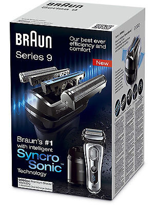 Braun Series 9 9095CC Men's Electric Foil Shaver Wet and Dry