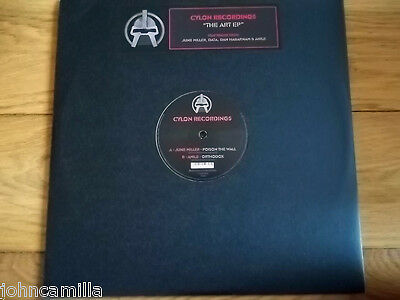 "VARIOUS - THE ART EP 2x12"" RECORD / VINYL - CYLON RECORDINGS - CYLONUK005"