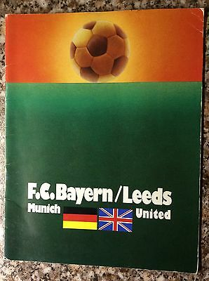 Bayern Munich v Leeds United European Cup Final 1975