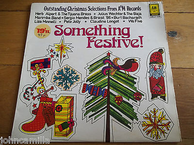 Various - Something Festive! - Lp / Record - A&m Records - Amlb 1020 - Mayfair