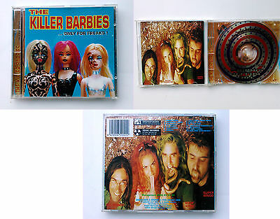 The Killer Barbies ‎– Only For Freaks 1st EDITION on CD 1996