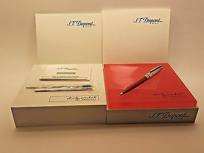 S.T. Dupont Andy Warhol Elvis Presley LIMITED EDITION 0296/1964 Ballpoint Pen