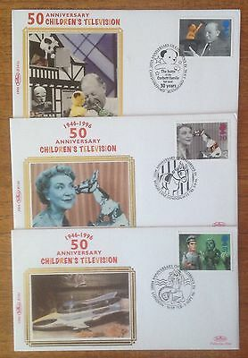 Benham Bundle Of 3 Assorted First Day Covers