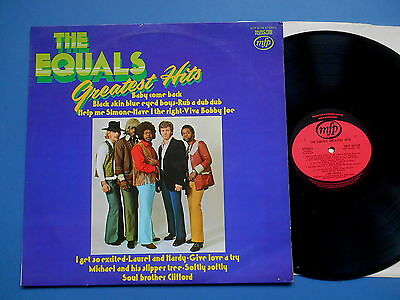 The Equals Greatest Hits Lp Uk Ex