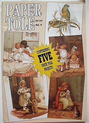 PAPER TOLE Vol.6 Five paper tole projects Victorian style Craft