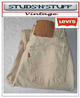 """Vintage Levis 512's Slim Tapered  Fit Jeans W27"""" L30"""" Aprox Size Uk 6 / 8 (T272)"""