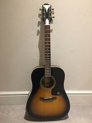 Acoustic Guitar & Hard Carry Case - EPIPHONE