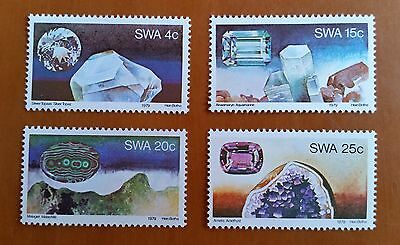 SWA SOUTH WEST AFRICA stamps, 1979. GEMSTONES