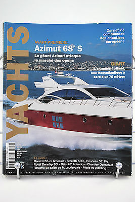 Original YACHTS 2003 / 2004 French Magazine / Cruising Dreams 260 Pages