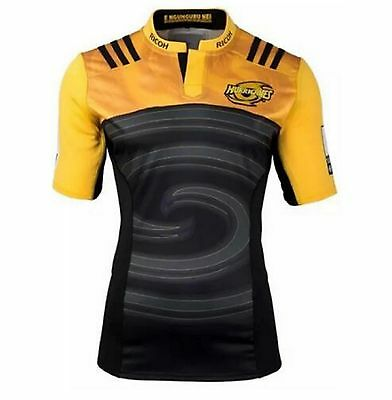 Camiseta rugby Hurricanes Super Rugby, T Shirt Rugby Maillot регби рубашка
