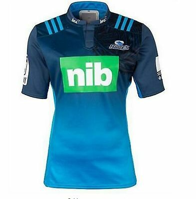 Camiseta rugby Blues Super Rugby, T Shirt Rugby Players Maillot регби рубашка