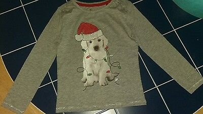 Bnwt baby girls long sleeve xmas top 18-24 months from Tu in Sainsburys