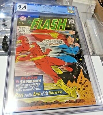 Flash 175 Cgc 9.4 2Nd Superman Race Gorgeous Book Hot New Slab Make Offer Nm
