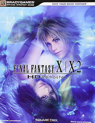 Final Fantasy X-X2 HD Remaster Official Strategy Guide EBook