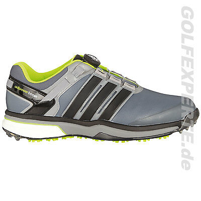 Adidas Golf Hombre Adipower Boa Boost Wide Zapatos De Base Onix Negro Sol Lima