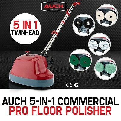 NEW AUCH Floor Polisher Carpet Cleaning Timber Tile Wax Polisher Buffer Cleaner