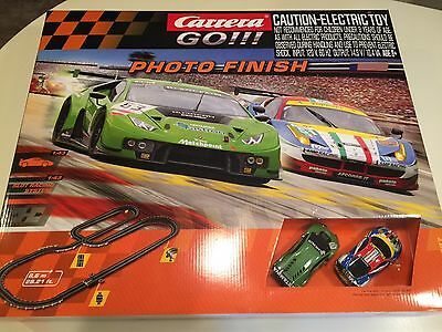 Carrera GO 62397 Photo Finish 1/43 Scale Slot Car Racing System