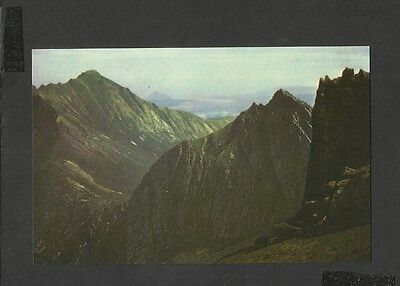 Vintage Colour Postcard Goat Fell the Castles Isle of Arran Scotland unposted