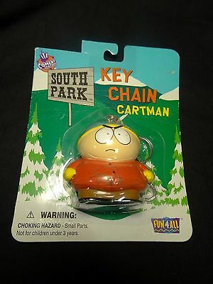 1998 Comedy Central South Park Cartman Key Chain – New in Package