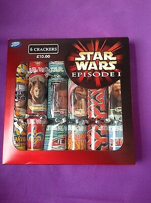 Vintage STAR WARS Episode 1 Boots CHRISTMAS CRACKERS Boxed