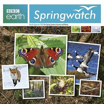 BBC Earth: Springwatch 2017 Square Family Organiser by Carousel