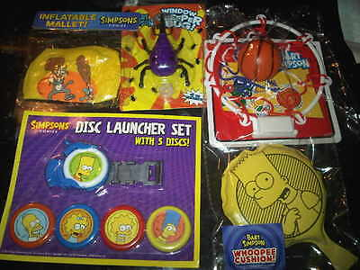 THE SIMPSONS Comics Toys Bundle Lot Mixture New and Used