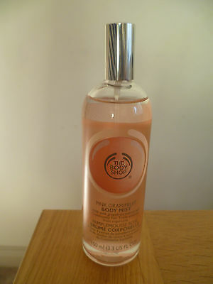 The Body Shop Pink Grapefruit Body Mist 100ml Teenager Ladies Girls Gift Present