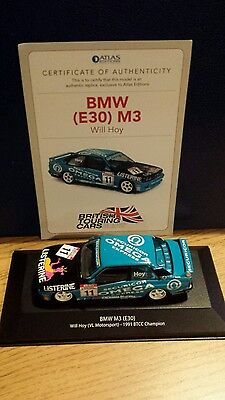 Atlas Editions Touring Cars Diecast 1:43 BMW M3 Will Hoy