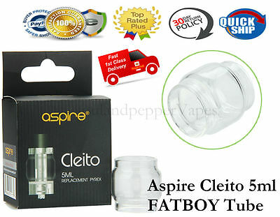 Aspire Cleito 5ml FatBoy Replacement Glass Genuine Fat Boy Large Capacity 5ml