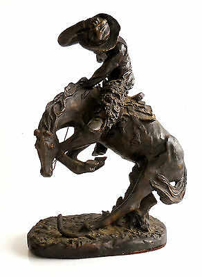 """New England Collectors Society Replica Statue """"The Rattlesnake"""" by F. Remington"""