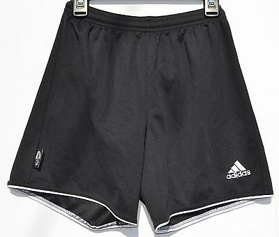 Adidas black climalite soccer shorts child/youth Medium 10-12