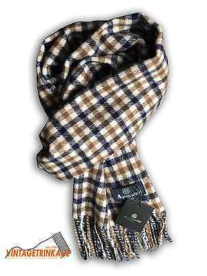 Aquascutum Scarf BRAND NEW with Tags. 100% Lambswool