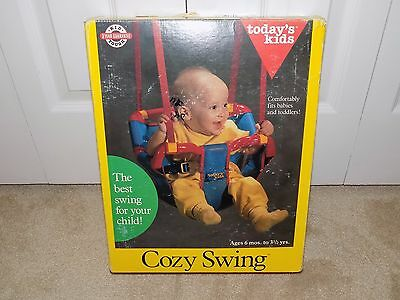 Today's Kids Cozy Baby Swing--6 mo.-3.5 Years--New in Box