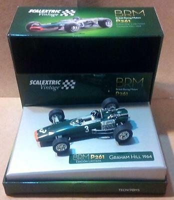 BRM P261 F1 Vintage Exin Triang Scalextric SCX Cartrix Reprotec Ninco Superslot