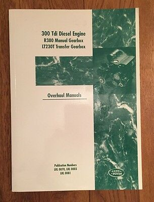 Land Rover 300Tdi Diesel Engine and Transmission Overhaul Manual