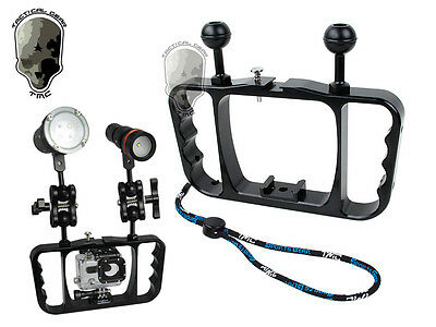 TMC Diving Arm Grip for GoPro Underwater Camera Tray Z08 Archon similar