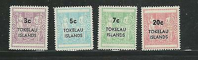 1968 Arms Overprints  set of 4 Complete MUH/MNH  Sold as per Scan
