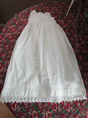 Antique Christening Sleeveless Dress or Petticoat