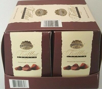 French Truffles Dusted with Cocoa Powder 2 x 1 kg Box Gift Chocolates Sweets AU1