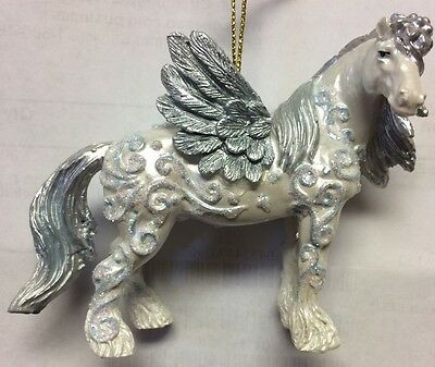 HORSE OF A DIFFERENT COLOR - Angel - Christmas Ornament - Resin