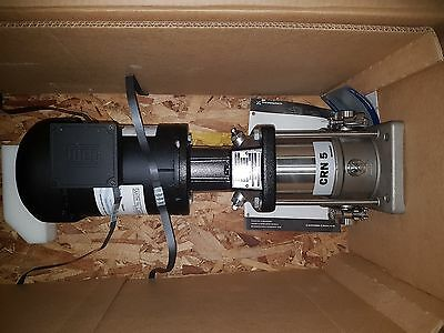 New - Pump CRN 5 Grundfos 1.5HP, 575VAC 3 Phase