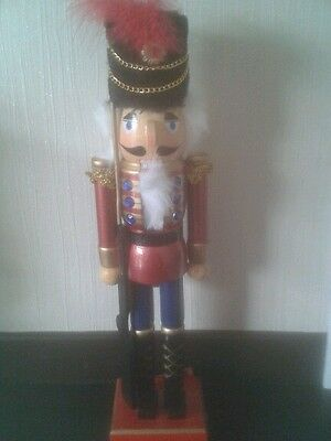 Christmas Nutcracker 38cm Bejewelled Rifleman