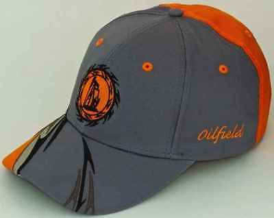 Oilfield Oil Well pump jack baseball cap hat Christmas gift clothes sticker rig