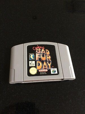 Nintendo 64 Games , Conkers Bad Fur Day,Aus Pal