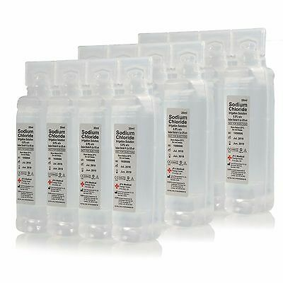 24 x Sterile Saline Eye Wash and Wound Pods